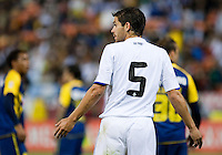 Fernando Gago. Real Madrid defeated Club America 3-2 at Candlestick Park in San Francisco, California on August 4th, 2010.