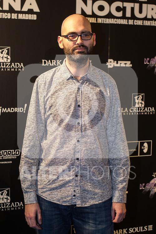 Jonh Tones at Nocturna, the international festival of fantastic cinema of Madrid. May 23,2016. (ALTERPHOTOS/Rodrigo Jimenez)