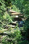 'Fallingwater', Frank Lloyd Wright house.