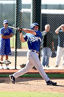 Scott Schebler - Los Angeles Dodgers - 2010 Instructional League.Photo by:  Bill Mitchell/Four Seam Images..
