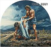 Dona Gelsinger, EASTER RELIGIOUS, paintings(USGE8907,#ER#) Ostern, religiös, Pascua, relgioso, illustrations, pinturas