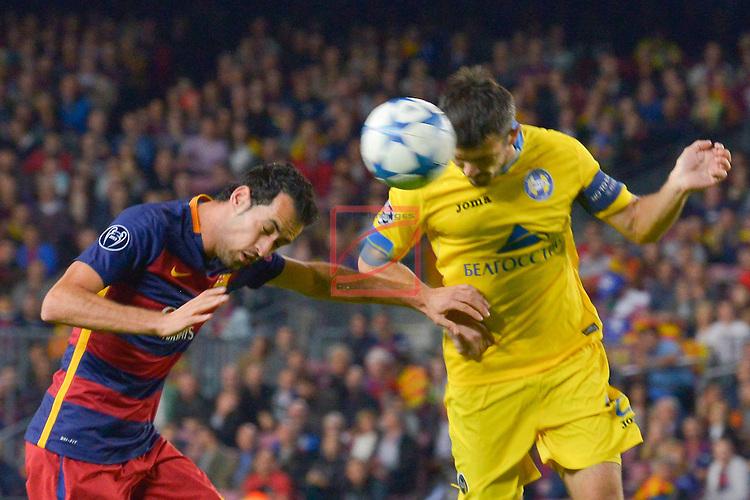 SERGIO BUSQUETS - Champions League 2015/16 Matchdy 4 - FC Barcelona vs Bate Borisov (3-0)