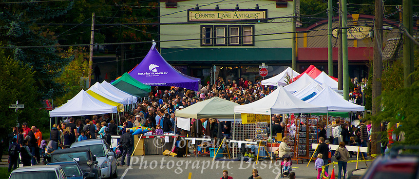 Cranberry Festival Fort Langley B.C.
