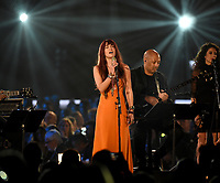 LOS ANGELES, CA - FEBRUARY 8: Lauren Daigle performs on the 2019 MusiCares Person of the Year Tribute Honoring Dolly Parton at the Los Angeles Convention Center on February 8, 2019 in Los Angeles, California. (Photo by Frank Micelotta/PictureGroup)