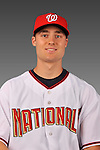 14 March 2008: ..Portrait of Jack McGeary, Washington Nationals Minor League player at Spring Training Camp 2008..Mandatory Photo Credit: Ed Wolfstein Photo
