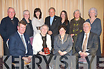 HERITAGE AWARD: Dr Margaret McCurtain who recived the Kerry Heritage Award from President of the Kerry Archaeological and Historical Society Kathleen Browne at their annual dinner at the Fels Point Hotel on Sunday seated l-r: Gerald O'Carroll (Historian), Dr Margaret McCurtain, Kathleen Browne (President) and Liam O'Connor (Treasurer). Back l-r: Fr Pat Sugrue (P.P. Kileentierna), Maureen Hanafin (Secretary), Gail Tangney (Council Member), Bishop Bill Murphy (Patron), Marie O'Sullivan (Editor Society Magazine), Eilish Pearce and Celine Slattery..   Copyright Kerry's Eye 2008