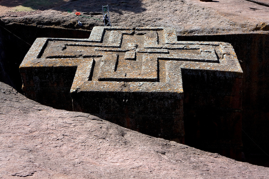 Lalibela, Ethiopia on  November 29, 2008. Photo by Jasmin Shah.