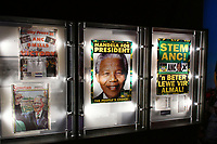 Press view for exhibition celebrating the life and legacy of Nelson Mandela, the anti-apartheid revolutionary and former President of South Africa, showcasing personal belongings and objects.  Nelson Mandela The Official Exhibition press view, London, UK - 7 February 2019.<br /> CAP/JOR<br /> &copy;JOR/Capital Pictures