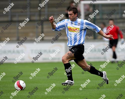 2008-08-09 / Voetbal / seizoen 2008-2009 / Verbroedering Geel-Meerhout / Nathan Van Brantegem..Foto: Maarten Straetemans (SMB)