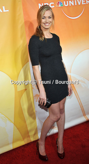 Yvonne Strahovski<br /> NBC-UNIversal_ tca party at the Beverly Hiton Hotel in Los Angeles
