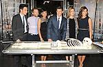 BONES Cast David Boreanaz, Tamara Taylor, Emily Deschanel and Micheal Conlin at the BONES 200th Episode Celebration held at FOX Studios in Los Angeles, CA. November 14, 2014.