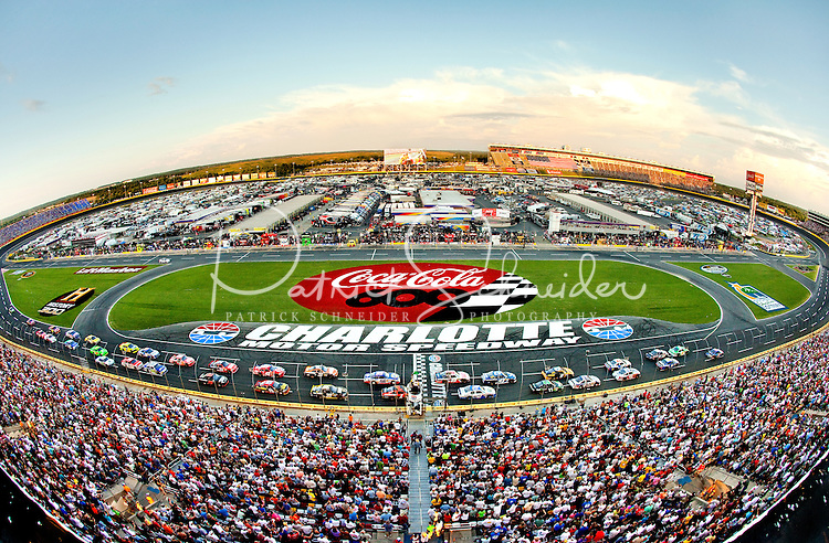 Photos from the 2012 coca cola 600 nascar sprint cup race for Race at charlotte motor speedway