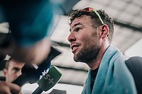 Mark Cavendish  (GBR/Dimension Data) after finishing his TT<br /> <br /> 104th Tour de France 2017<br /> Stage 1 (ITT) - D&uuml;sseldorf &rsaquo; D&uuml;sseldorf (14km)