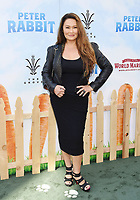 LOS ANGELES, CA - FEBRUARY 03: Actor Tia Carrere arrives at the Premiere Of Columbia Pictures' 'Peter Rabbit' at The Grove on February 3, 2018 in Los Angeles, California.<br /> CAP/ROT/TM<br /> &copy;TM/ROT/Capital Pictures