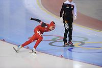 SCHAATSEN: SALT LAKE CITY: Utah Olympic Oval, 15-11-2013, Essent ISU World Cup, 500m, Shuang Zhang (CHN), ©foto Martin de Jong