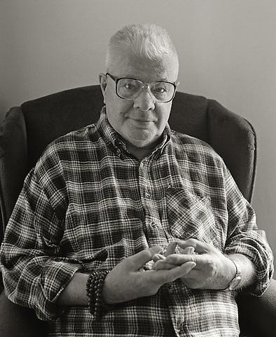 Peter Orlovsky, 2006.  Poet, long time associate of Allen Ginsberg.