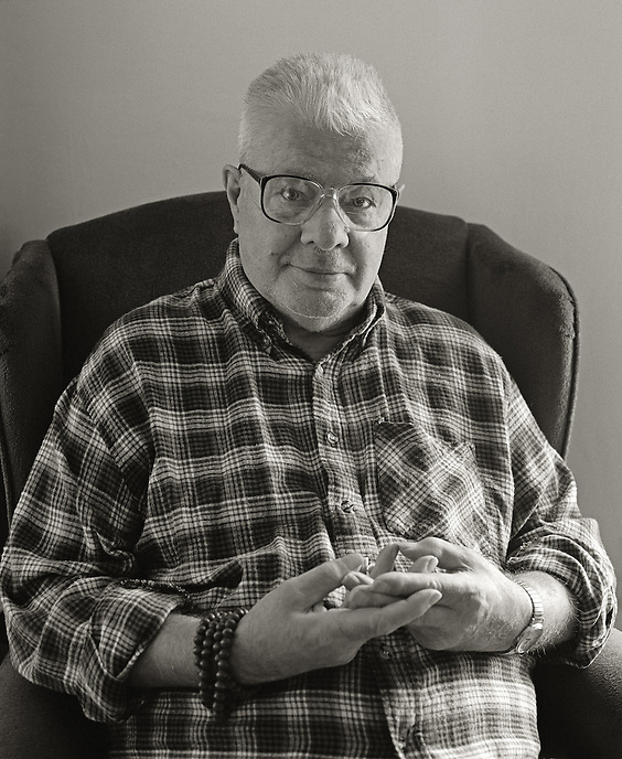 Peter Orlovsky, 2006.  Poet, long time associate of Allen Ginsberg.