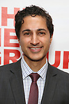 "Maulik Pancholy attends The New Group presents the New York Premiere Opening Night of David Rabe's for ""Good for Otto"" on March 8, 2018 at the Green Fig Urban Eatery,  in New York City."