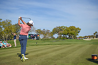 Tommy Fleetwood (ENG) watches his tee shot on 7 during round 2 of the Arnold Palmer Invitational at Bay Hill Golf Club, Bay Hill, Florida. 3/8/2019.<br /> Picture: Golffile | Ken Murray<br /> <br /> <br /> All photo usage must carry mandatory copyright credit (&copy; Golffile | Ken Murray)