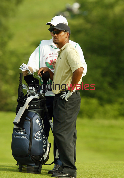Michael Campbell.The Celtic Manor Resort Wales Open 2003..©Steve Pope.Sportingwales.com.07798 83 00 89