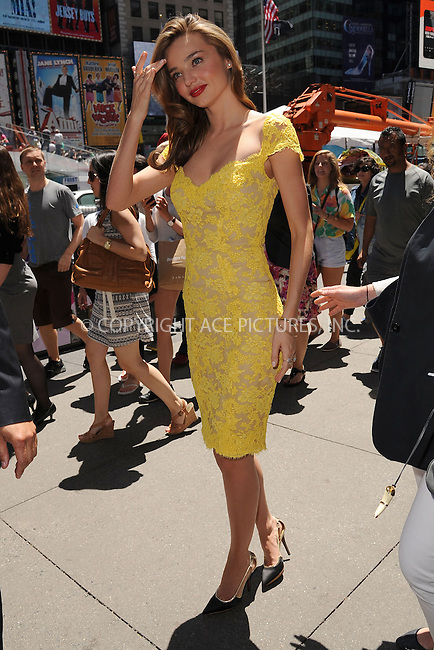 WWW.ACEPIXS.COM<br /> June 04, 2013, New York City<br /> Model Miranda at Pedestrian Plaza in Times Square on June 4, 2013 in New York City. <br /> By Line: Kristin Callahan/ACE Pictures<br /> ACE Pictures, Inc.<br /> tel: 646 769 0430<br /> Email: info@acepixs.com<br /> www.acepixs.com<br /> Copyright:<br /> Kristin Callahan/ACE Pictures