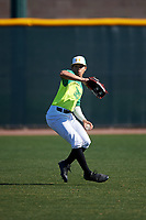 Joshua Algarin during the Under Armour All-America Tournament powered by Baseball Factory on January 19, 2020 at Sloan Park in Mesa, Arizona.  (Zachary Lucy/Four Seam Images)