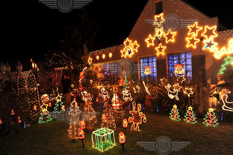 South africa cape town in the working middle class for African christmas decoration