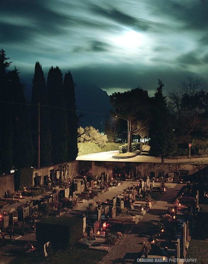 Cimitero Bellagio, Lago di Como, Lario
