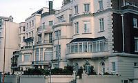 London: Houses, Park Lane, Mayfair, opposite Hyde Park. 1820's.
