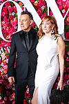 NEW YORK, NY - JUNE 10:  Bruce Springsteen and Patti Scialfa attend the 72nd Annual Tony Awards at Radio City Music Hall on June 10, 2018 in New York City.  (Photo by Walter McBride/WireImage)