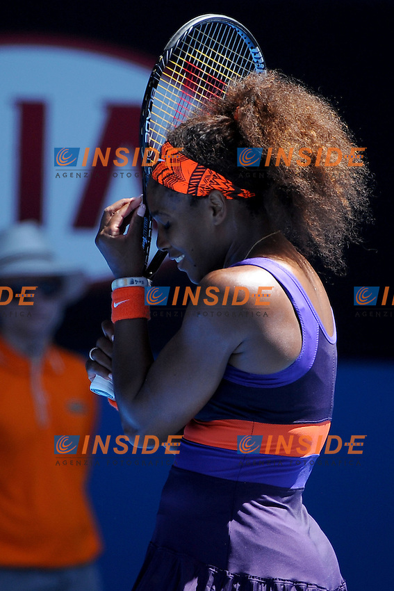 Serena Williams (USA) .Melbourne 23/1/2013.Tennis Australian Open.Foto Virginie Bouyer / Sportmag / Panoramic / Insidefoto.ITALY ONLY