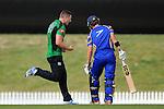 WTTU player #34 celebrates a wicket  during the Senior ODI Final WTTU v Wanderers. Saxton Oval, Richmond, Nelson, New Zealand. Saturday 29 March 2014. Photo: Chris Symes/www.shuttersport.co.nz