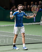 ABN AMRO World Tennis Tournament, Rotterdam, The Netherlands, 19 Februari, 2017, Marcel Granollers (ESP)<br /> Photo: Henk Koster