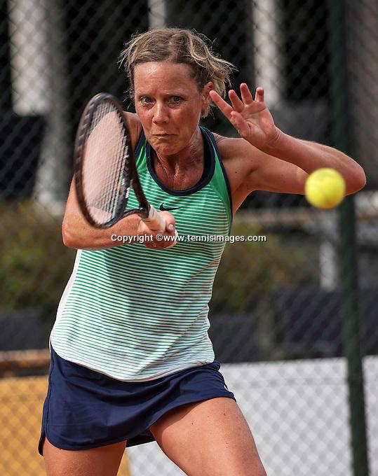 Etten-Leur, The Netherlands, August 27, 2016,  TC Etten, NVK, Monique van Slobbe (NED)<br /> Photo: Tennisimages/Henk Koster