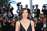 "Milla Jovovich attends the ""The Last Face"" Premiere during the 69th Annual International Cannes Film Festival in Cannes, France, 20th May 2016. Photo Credit: Timm/face to face/AdMedia"