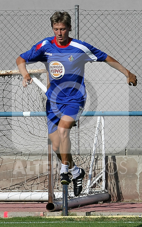 Getafe's Franck Signorino during training sesion.August 6 2009. (ALTERPHOTOS/Acero).