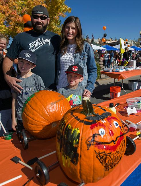 The Marini family during Pumpkin Palooza on Sunday Oct. 21, 2018 in Sparks, Nevada.