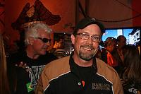 SAO PAULO - SP - 01 DE JUNHO DE 2013 - CElEBRAÇÃO HD110 - Harley-Davidson celebra 110 anos de história com promoção de grande evento para fãs da marca em São Paulo, na Nova Arena Anhembi. Na foto, Bill Davidson, vice-presidente do Museu Harley-Davidson, filho de Willie G. Davidson e bisneto de um dos fundadores da companhia. FOTO: MAURICIO CAMARGO / BRAZIL PHOTO PRESS.