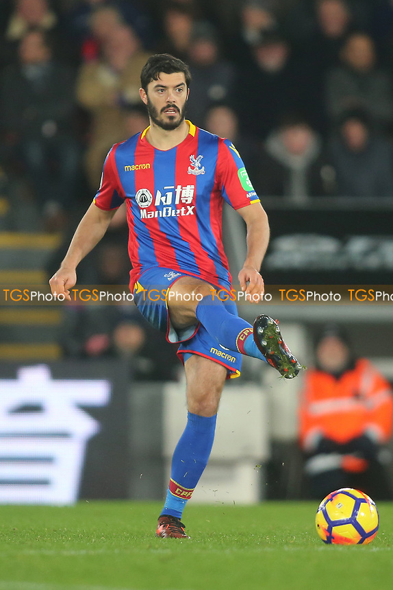 Luka Milivojevic of Crystal Palace during Crystal Palace vs AFC Bournemouth, Premier League Football at Selhurst Park on 9th December 2017