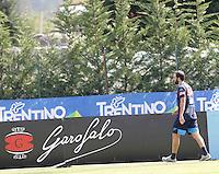 Prima seduta di allenamento per  Gonzalo Higuain  durante <br /> ritiro precampionato Napoli Calcio a  Dimaro 26 Luglio 2015<br /> <br /> Preseason summer training of Italy soccer team  SSC Napoli  in Dimaro Italy July 11, 2015