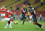 Bogotá- Santa Fe venció 1 gol por 0 a Junior, en el partido correspondiente a la ronda de vuelta de la semifinal del Torneo Clausura 2014, desarrollado en el estadio Nemesio Camacho el Campín el 30 de octubre.