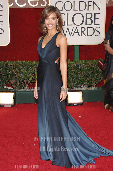 JESSICA ALBA at the 63rd Annual Golden Globe Awards at the Beverly Hilton Hotel..January 16, 2006  Beverly Hills, CA.© 2006 Paul Smith / Featureflash