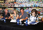 """Days Of Our Lives - Wally Kurth, Lauren Koslow, Melissa Reeves, Greg Meng (co-executive producer and author of this book) meet the fans as they sign """"Days Of Our Lives Better Living"""" on September 27, 2013 at Books-A-Million in Nashville, Tennessee. (Photo by Sue Coflin/Max Photos)"""