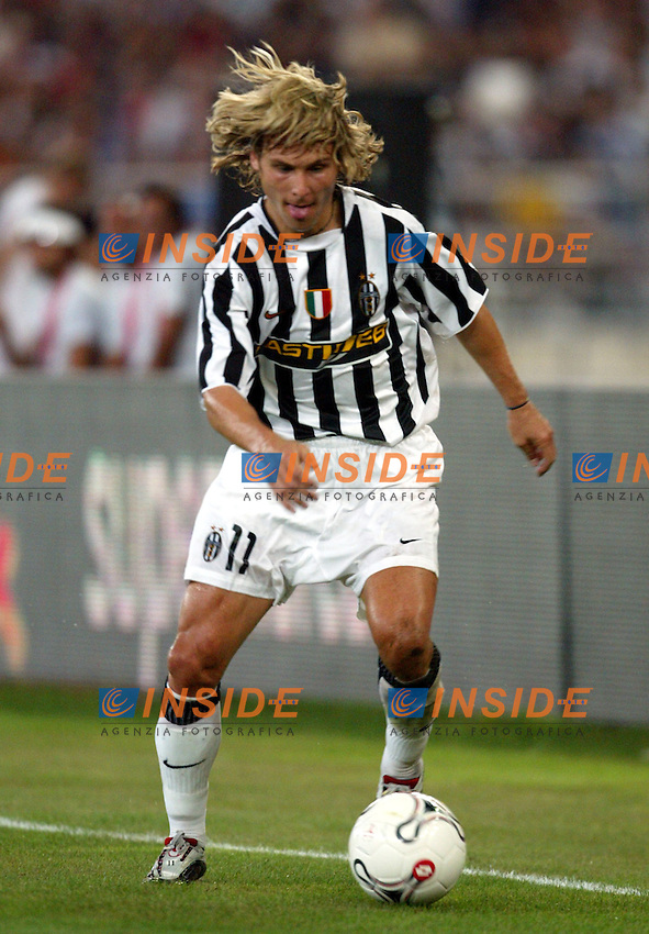 Bari 8/8/2003<br /> Birra Moretti Cup <br /> Pavel Nedved (Juventus)