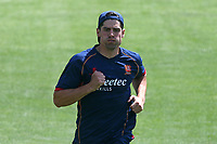 Alastair Cook of Essex warms up ahead of Essex Eagles vs Kent Spitfires, Royal London One-Day Cup Cricket at The Cloudfm County Ground on 6th June 2018
