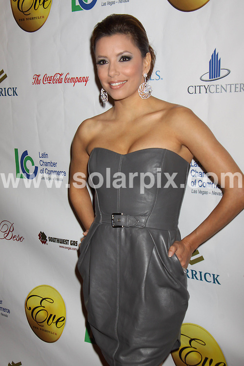 **ALL ROUND PICTURES FROM SOLARPIX.COM**.**SYNDICATION RIGHTS FOR UK, AUSTRALIA, DENMARK, PORTUGAL, S. AFRICA, SPAIN & DUBAI (U.A.E) ONLY**.Eva Longoria Parker Presented with Distinguished Business Leadership Award at Latin Chamber of Commerce Celebration. Beso Steakshouse, City Center / Las Vegas, NV, USA, 20 February 2010.This pic: Eva Longoria Parker.JOB REF: 10750    PHZ prn  DATE: 20_02_2010.**MUST CREDIT SOLARPIX.COM OR DOUBLE FEE WILL BE CHARGED**.**MUST NOTIFY SOLARPIX OF ONLINE USAGE**.**CALL US ON: +34 952 811 768 or LOW RATE FROM UK 0844 617 7637**