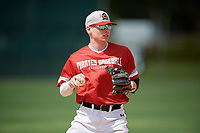 Josh Griffin (9) during the WWBA World Championship at the Roger Dean Complex on October 10, 2019 in Jupiter, Florida.  Josh Griffin attends Marion High School in Marion, IL and is committed to John A. Logan College.  (Mike Janes/Four Seam Images)