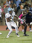 Torrance, CA 10/02/15 - Dayshawn Littleton (Carson #2) in action during the Carson-West Torrance CIF varsity football game at West Torrance High School.  Carson defeated West Torrance 34-27.
