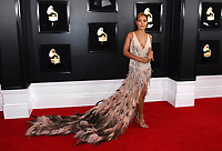 Jada Pinkett Smith arrives at the 61st annual Grammy Awards at the Staples Center on Sunday, Feb. 10, 2019, in Los Angeles. (Photo by Jordan Strauss/Invision/AP)