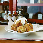 Boulettes Larder in San Francisco's Ferry Building serves up bignets with Hugarian Sour Cream